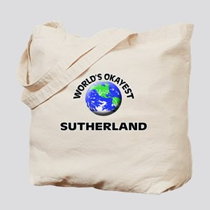 World's Okayest Sutherland Tote Bag