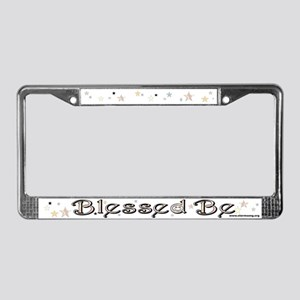 Blessed Be License Plate Frame