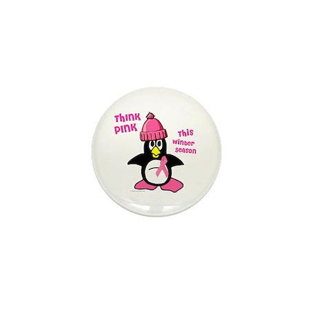 Winter Penguin 2 (BC Awareness) Mini Button (10 pa