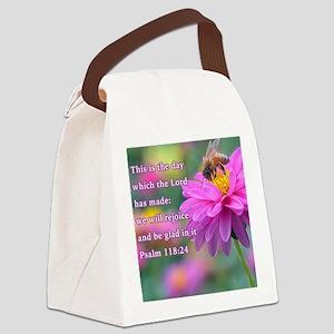 Rejoice Canvas Lunch Bag