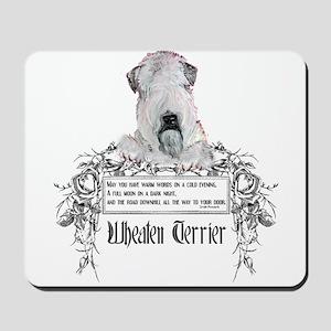 Wheaten Terrier Irish Proverb Mousepad