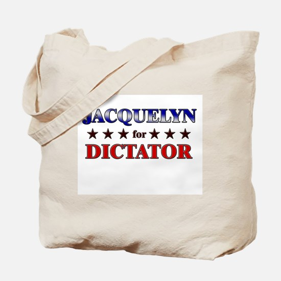 JACQUELYN for dictator Tote Bag