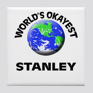 World's Okayest Stanley Tile Coaster