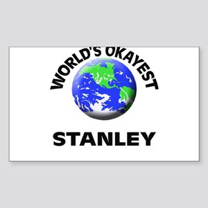 World's Okayest Stanley Sticker