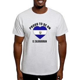 El Savadoran Patriotic Designs T-Shirt