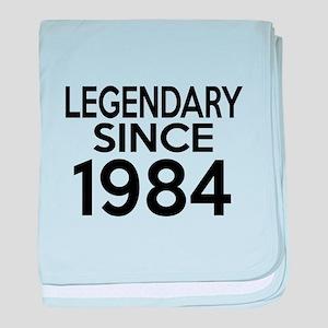 Legendary Since 1984 baby blanket