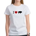 I LOVE BUFFALO Women's T-Shirt