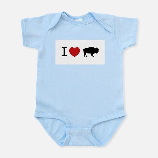 I LOVE BUFFALO Infant Creeper