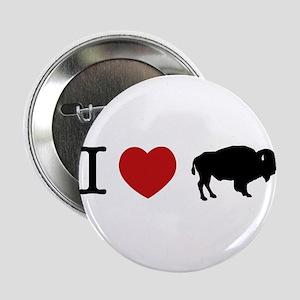 I LOVE BUFFALO Button