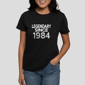 Legendary Since 1984 Women's Dark T-Shirt