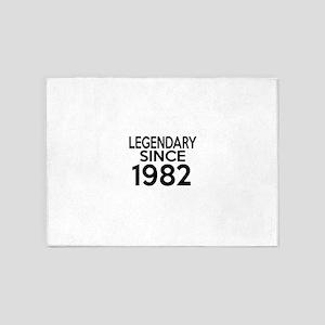 Legendary Since 1982 5'x7'Area Rug