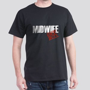 Off Duty Midwife Dark T-Shirt
