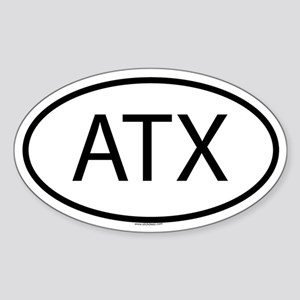 ATX Oval Sticker