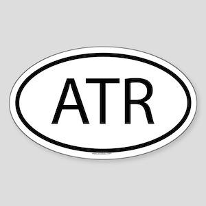 ATR Oval Sticker