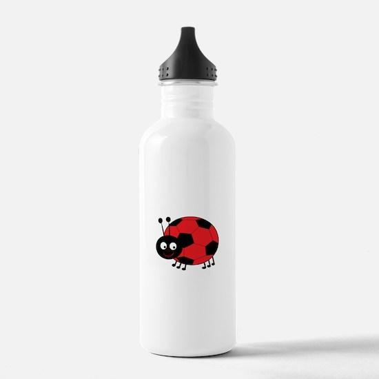 Soccer Lady Bug Water Bottle