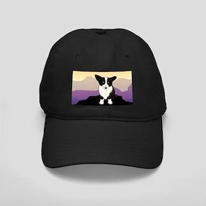Purple Mountain Corgi Black Cap