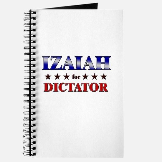 IZAIAH for dictator Journal
