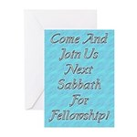Join us for Sabbath Greeting Cards (Pk of 10)