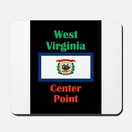 Center Point West Virginia Mousepad
