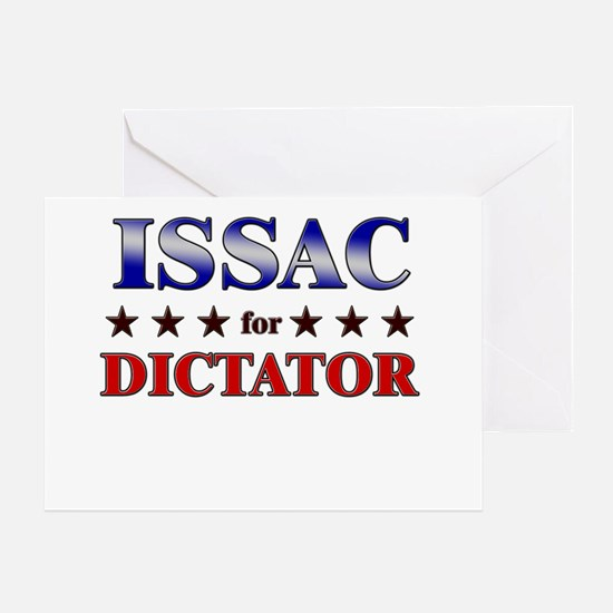 ISSAC for dictator Greeting Card