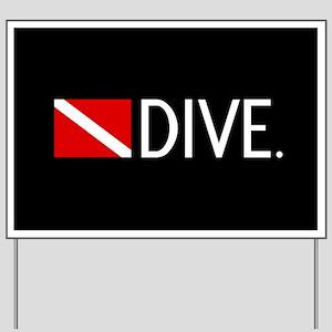 Diving: Diving Flag & Dive. Yard Sign