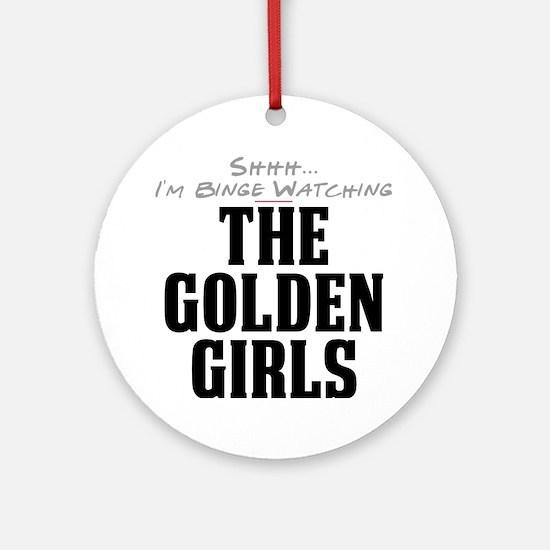 Shhh... I'm Binge Watching The Golden Girls Round