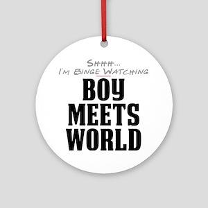 Shhh... I'm Binge Watching Boy Meets World Round O
