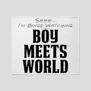 Shhh... I'm Binge Watching Boy Meets World Stadium