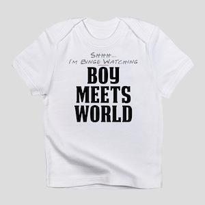 Shhh... I'm Binge Watching Boy Meets World Infant