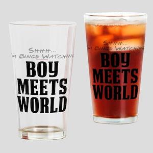 Shhh... I'm Binge Watching Boy Meets World Drinkin