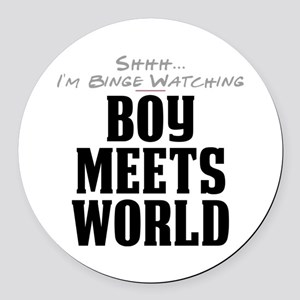 Shhh... I'm Binge Watching Boy Meets World Round C