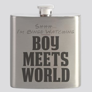 Shhh... I'm Binge Watching Boy Meets World Flask