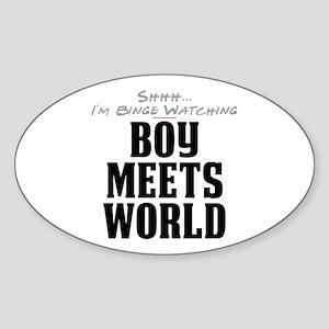 Shhh... I'm Binge Watching Boy Meets World Oval St