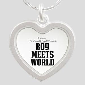 Shhh... I'm Binge Watching Boy Meets World Silver