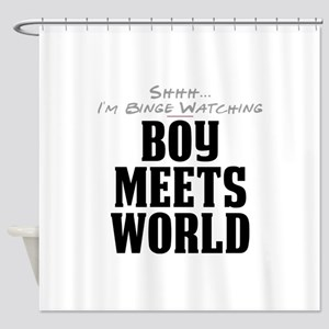 Shhh... I'm Binge Watching Boy Meets World Shower
