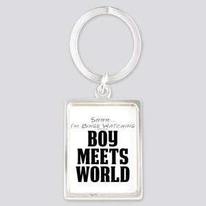 Shhh... I'm Binge Watching Boy Meets World Portrai