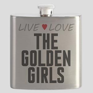 Live Love The Golden Girls Flask