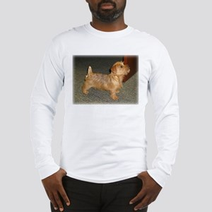 Whimsical Norfolk Terrier Puppy Long Sleeve T-Shir