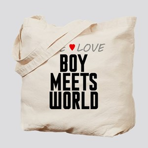 Live Love Boy Meets World Tote Bag