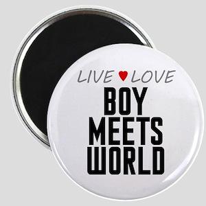 Live Love Boy Meets World Magnet