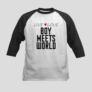 Live Love Boy Meets World Kids Baseball Jersey