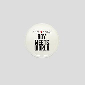 Live Love Boy Meets World Mini Button
