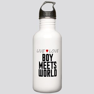 Live Love Boy Meets World Stainless Water Bottle 1