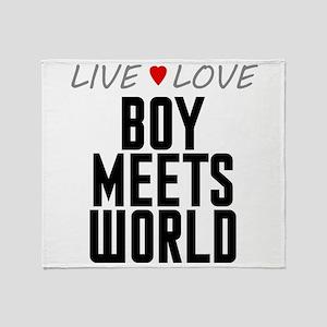 Live Love Boy Meets World Stadium Blanket