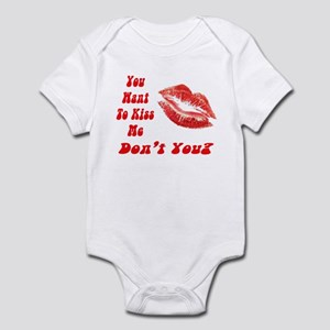 Kiss Me Infant Bodysuit