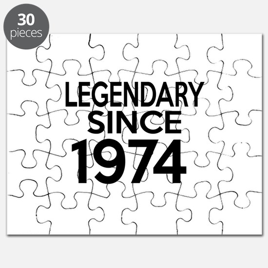 Legendary Since 1974 Puzzle
