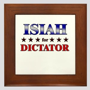 ISIAH for dictator Framed Tile