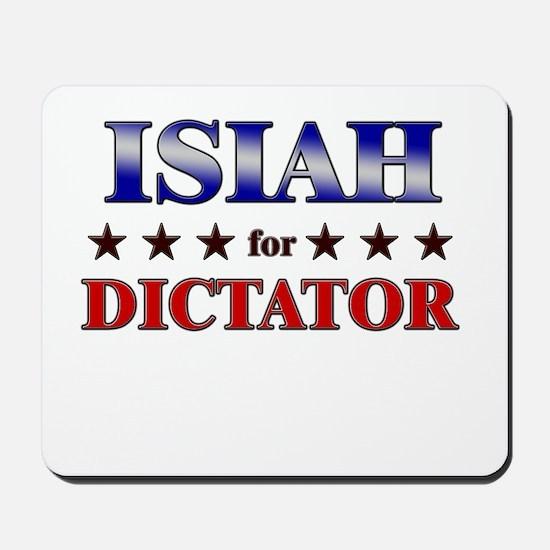 ISIAH for dictator Mousepad