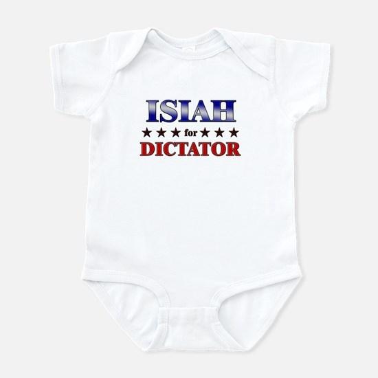 ISIAH for dictator Infant Bodysuit