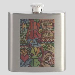 Brave Girl Flask